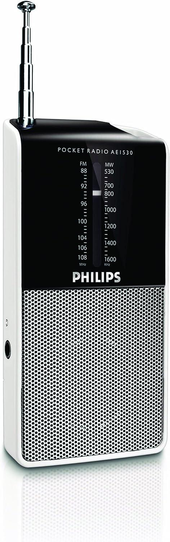 Philips AE1530 - Radio portátil (Sintonización analógica FM/OM)