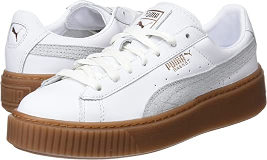 Puma Basket PlatforMphoria Gum Scarpe da Ginnastica Basse