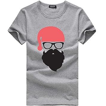 Wawer Navidad Impresora - Camisa para Hombres, décontracté ...