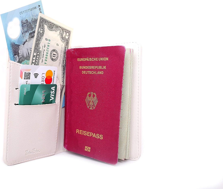 Wanderlust Gift Bisu Bisu Passport Holder Pug Pattern Pug Lovers Gift
