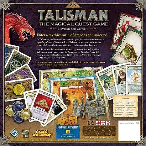 Talisman: The Magical Quest Game: Fantasy Flight Games: Amazon.es: Juguetes y juegos