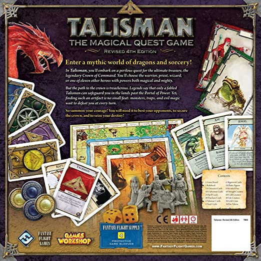 Talisman: The Magical Quest Game: Fantasy Flight Games: Amazon.es ...