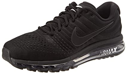Nike Men's Air Max 2017 Running Shoe Black/Black-Black 10.0