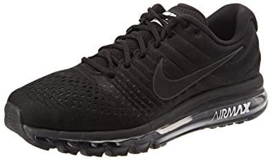 303b81c8429d Nike Men s Air Max 2017 Training Shoes Grey Black  Amazon.co.uk ...
