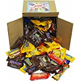 Chocolate Variety Pack - Fun Size Candy - All Your Favorite Chocolate Bars Including M&M, Snickers, Twix and More In 6x6x6 Bulk Box, 4 LB