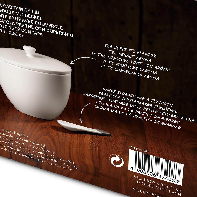 Amazon.com: Villeroy & Boch Tea Passion Tea Caddy with Lid ...