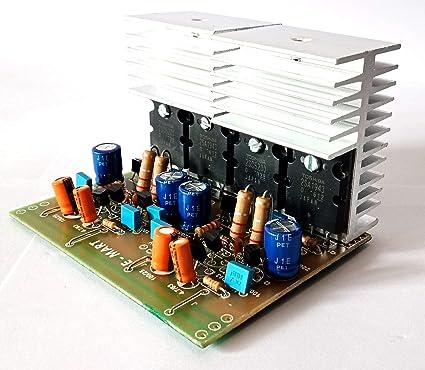 Powertronics TTC 5200/1943 HI-FI Mono 500 W Subwoofer Audio Amplifier Kit  Board