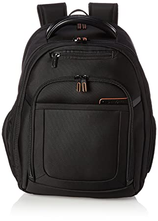 Samsonite Pro 4 DLX Backpack PFT TSA, Black, One Size