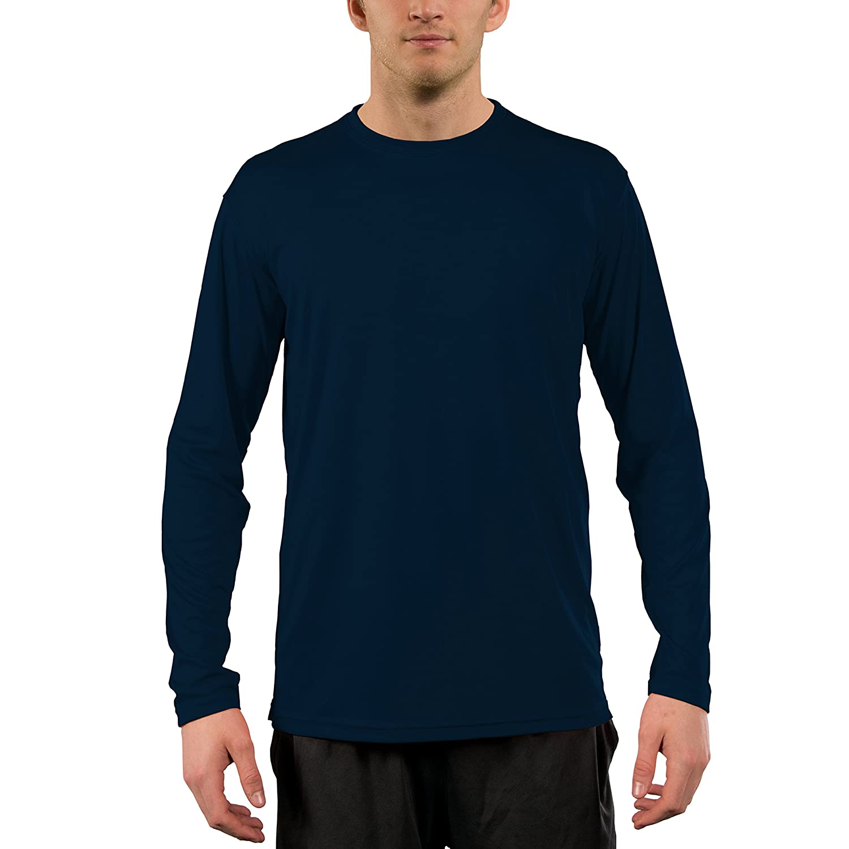 Vapor Apparel メンズ UPF 50+ UV /サンプロテクションロングスリーブTシャツ B078FGMLGX XS|ネイビー ネイビー XS