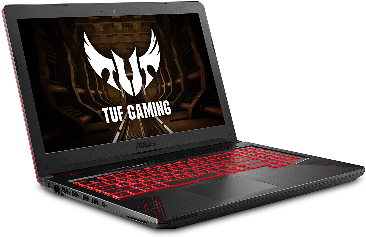 Amazon Com Asus Tuf Thin Light Gaming Laptop Pc Fx504 15 6 Full Hd 8th Gen Intel Core I5 8300h Up To 3 9ghz Geforce Gtx 1050 2gb 8gb Ddr4 2666 Mhz 1tb Firecuda Sshd Windows