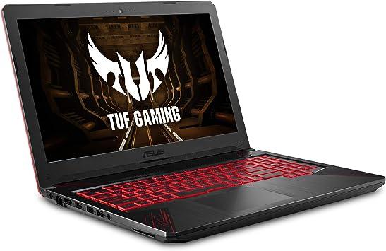"ASUS TUF Thin & Light Gaming Laptop PC (FX504) 15.6"" Full HD, 8th-Gen Intel Core i5-8300H (up to 3.9GHz), GeForce GTX 1050 2GB, 8GB DDR4 2666 MHz, 1TB ..."