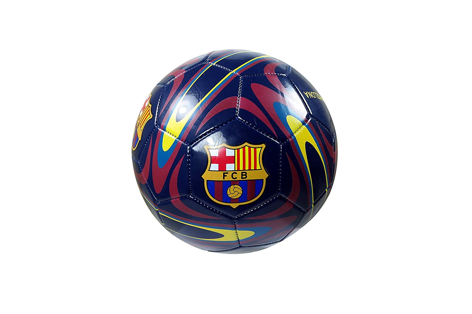 FC Barcelona Authentic Official Licensedサッカーボールサイズ5 – 10 – 6 B077P12XLN