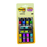 Post-it Flags Value Pack, Assorted Colors, Sticks Securely for Long-Lasting Use.47...