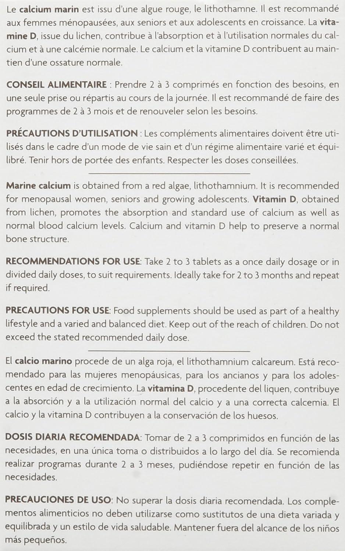FLEURANCE NATURE Calcium Marin Vitamine D Complément Alimentaire   Amazon.fr  Hygiène et Soins du corps 3a34708d064a