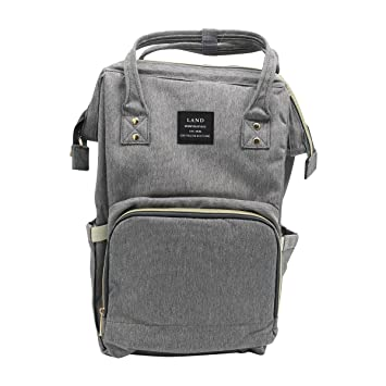 b0cda52cb Amazon.com   Land Baby Diaper Bag Backpack - Multi-Function Waterproof  Maternity Travel Nappy Bags for Baby Care - Large Capacity