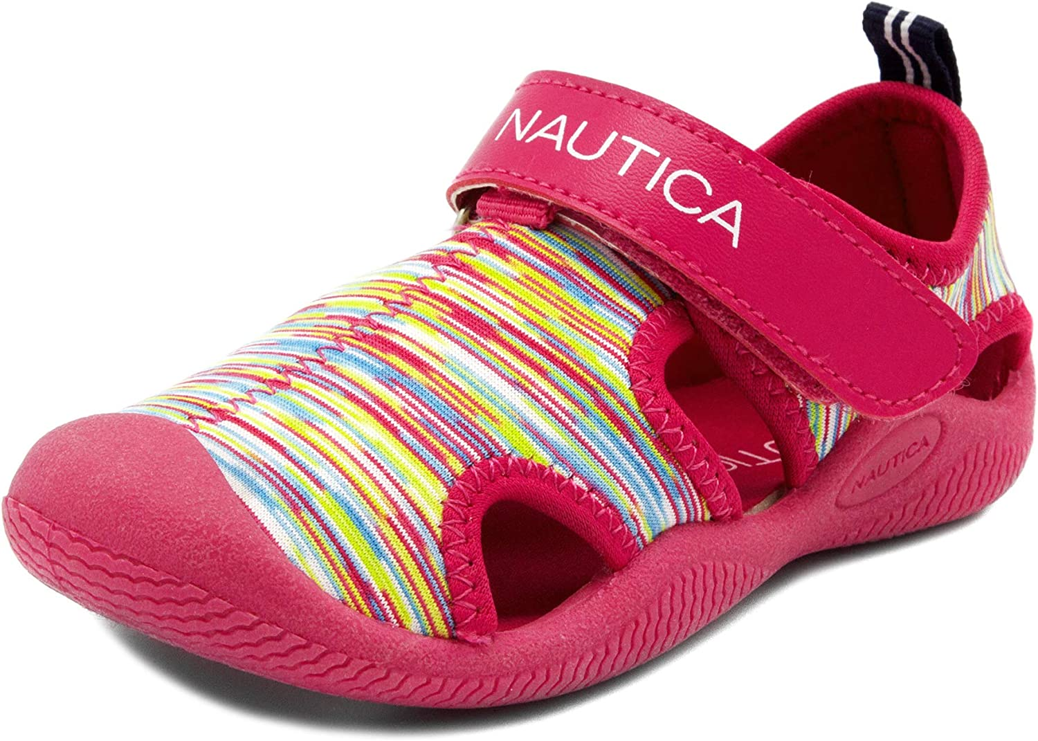 Nautica Kids Kettle Gulf Protective Water Shoe,Closed-Toe Sport Sandal Toddler//Little Kid