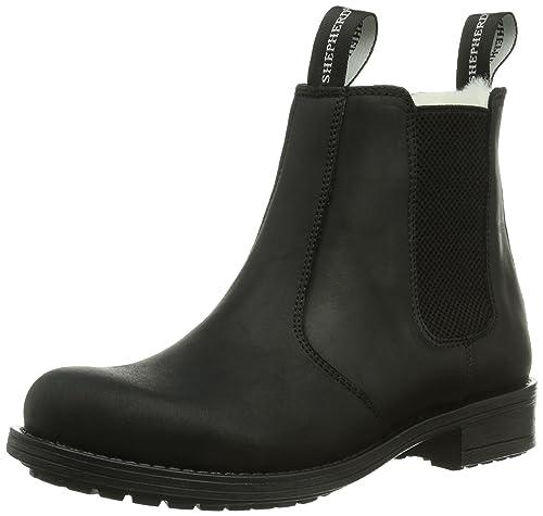 Mens 211020 Warm lined Chelsea boots short length Shepherd Discount Geniue Stockist JEu45aSG