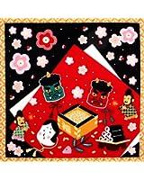 《DM便対応》 (キステ)Kisste 四季彩布 12ヶ月の季節柄小風呂敷 5-4-00081