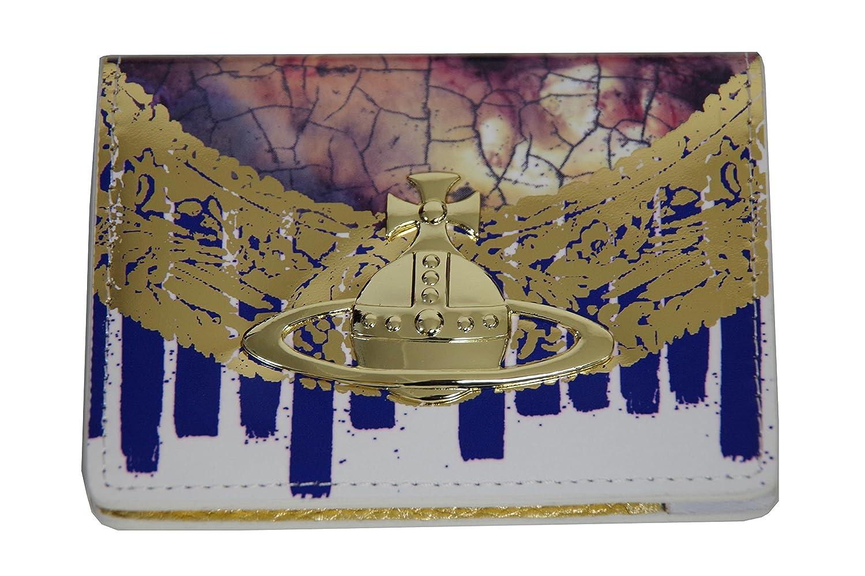 Vivienne Westwood ヴィヴィアンウエストウッドパスケース カードケース パテントレザー ホワイト×ゴールド S161 新品正規品   B01MXXRZ2N