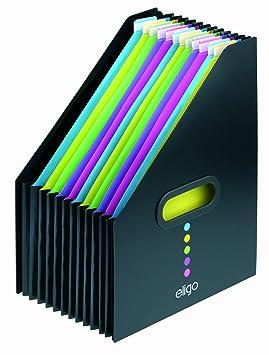 Snopake 15171 - Archivador de tipo revistero, color negro: Amazon.es: Oficina y papelería