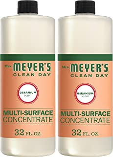 product image for Mrs. Meyer's Clean Day Multi-Surface Cleaner Concentrate, Use to Clean Floors, Tile, Counters,Geranium Scent, 32 oz- Pack of 2