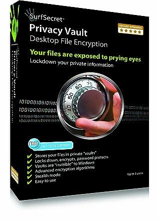 Amazon com: SurfSecret Privacy Vault [Download] [OLD VERSION