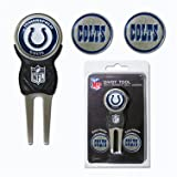 Team Golf NFL Indianapolis Colts Divot Tool with 3