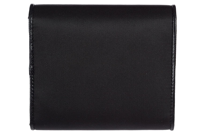 Prada monedero cartera de mujer en piel nuevo negro: Amazon.es: Zapatos y complementos