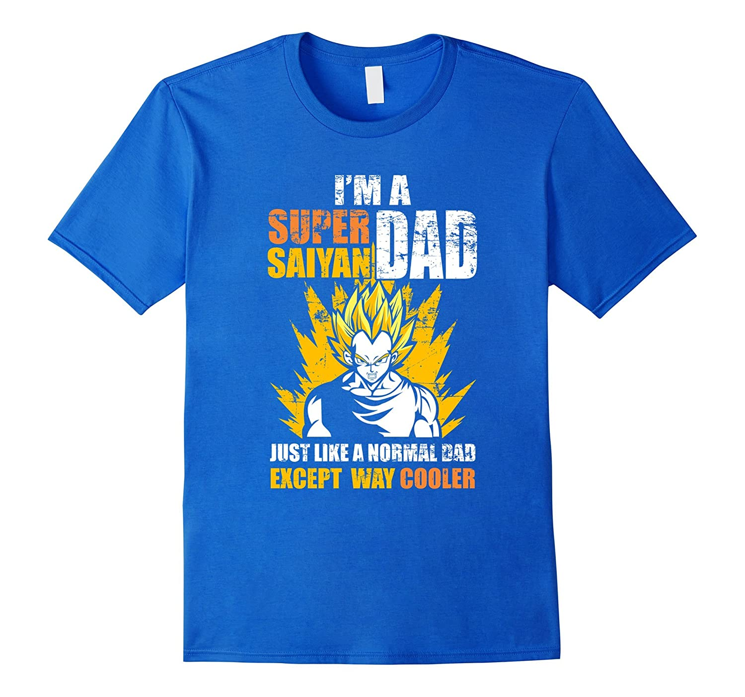 7c088fc0 Mens Super Saiyan Dad T-Shirt Funny Fathers Day Gift DBZ Lovers-RT ...