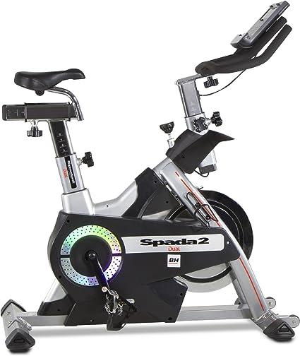 Bh Fitness - Bicicleta indoor spada ii dual: Amazon.es: Deportes y ...