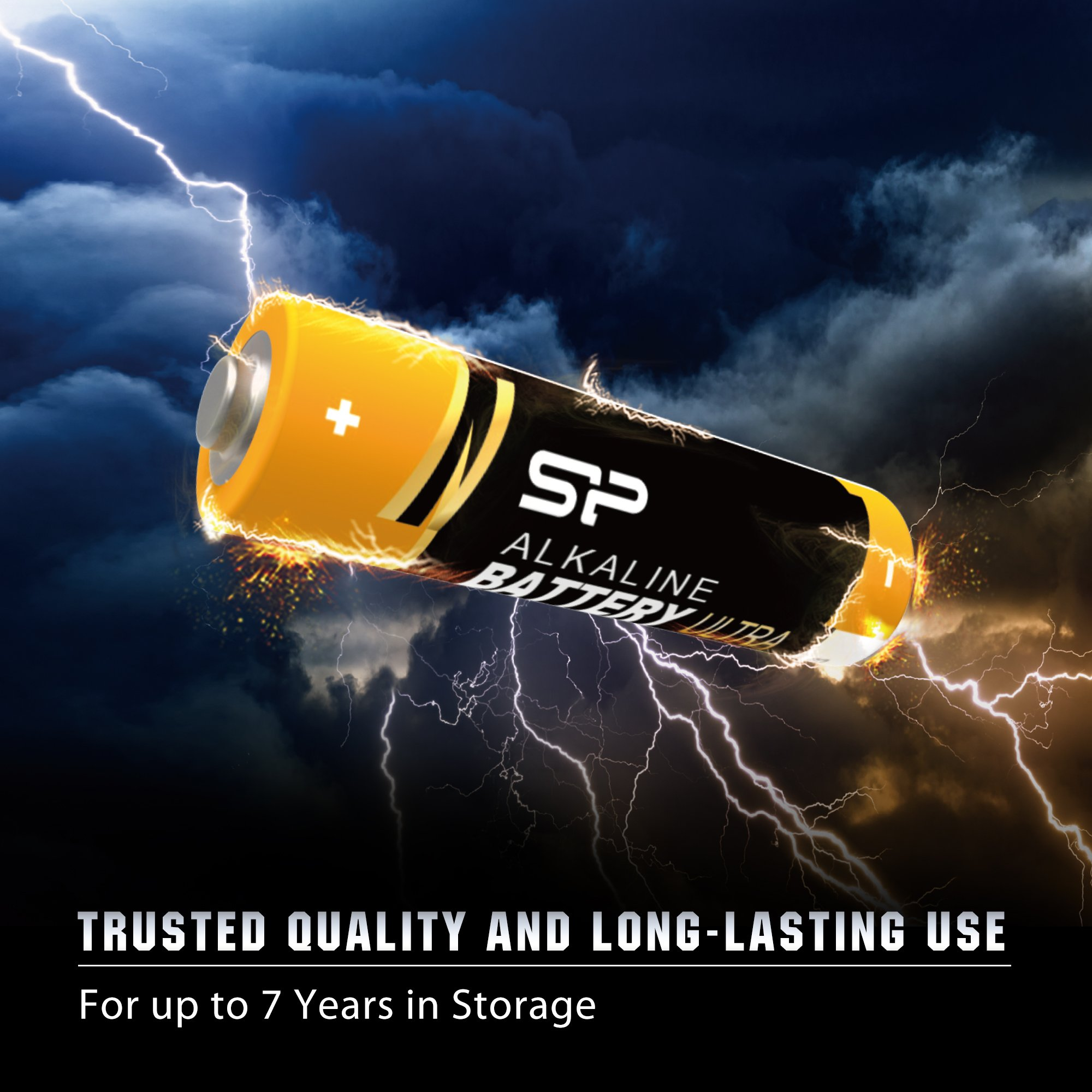 Silicon Power AA 10 Count Value Pack Ultra Alkaline Batteries (SPAL02ABAT10SV1K) by Silicon Power (Image #4)