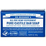 Dr Bronner's Peppermint Soap Bar Savon 140 g