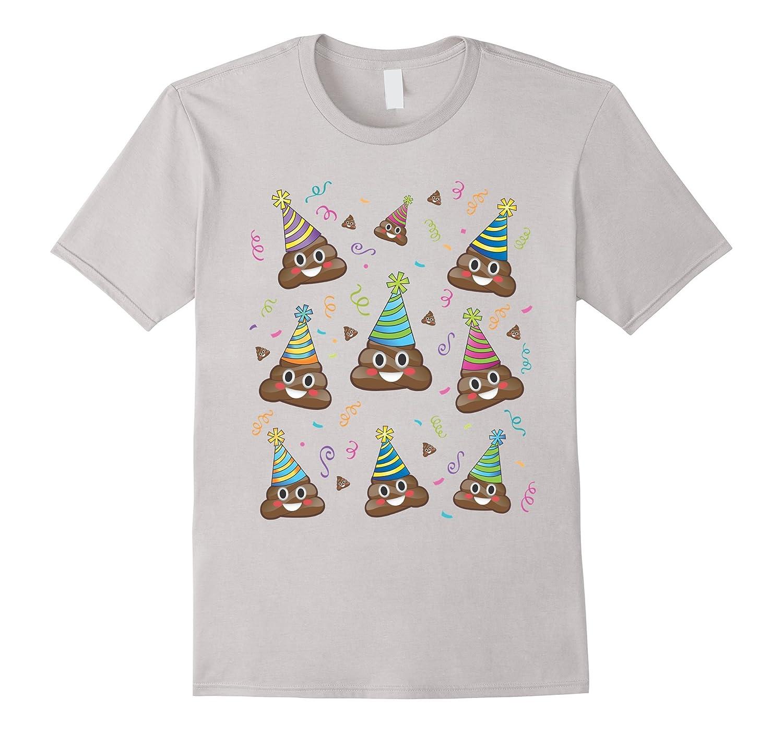 Poop Emoji Birthday Shirt Girls Boys Teens Pj Pajamas Tee TD – Teedep