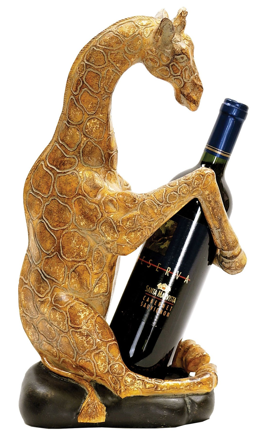 Sterling 91-5628 Giraffe Caddy Wine Holder, 7 by 16-Inch