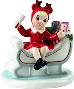 "Royal Doulton Nostalgic Christmas Figurines Sleigh Full of Gifts 4"""