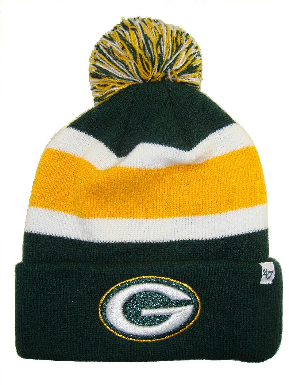 b2c1903de '47 Brand Breakaway Fashion Cuff Beanie Hat with POM POM - NFL Cuffed  Winter Knit Toque Cap