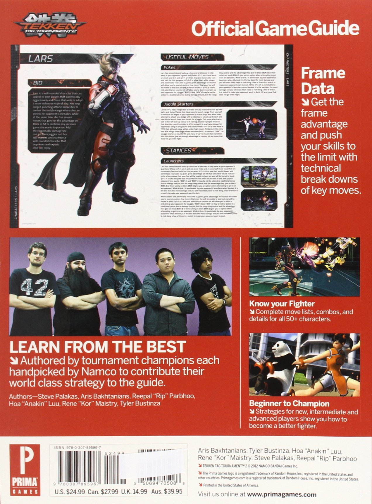 Tekken Tag Tournament 2: Prima Official Game Guide (Prima Official ...