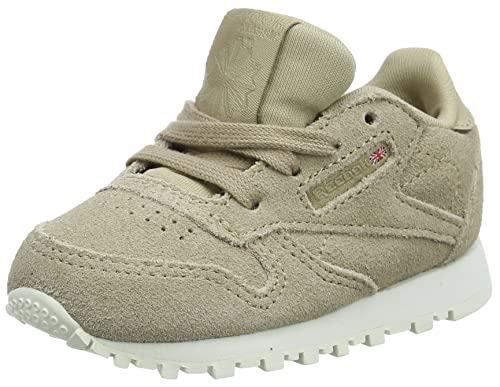 Reebok Classic Leather MCC, Zapatillas Unisex Bebé, Marrón (Duck Season/Chalk), 18.5 EU