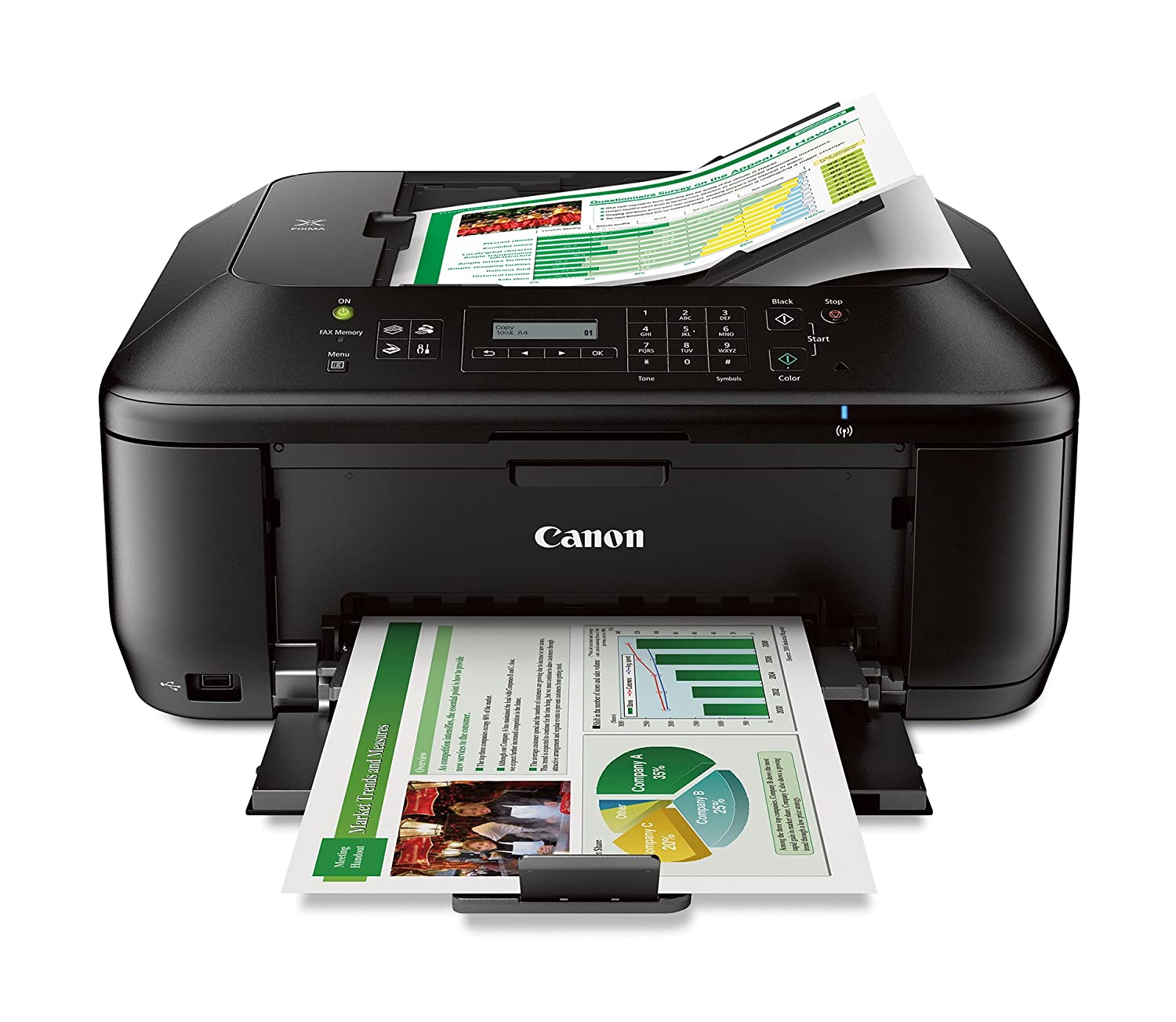 Amazon.com: Canon Office Products MX532 Wireless Office All-In-One Printer:  Electronics