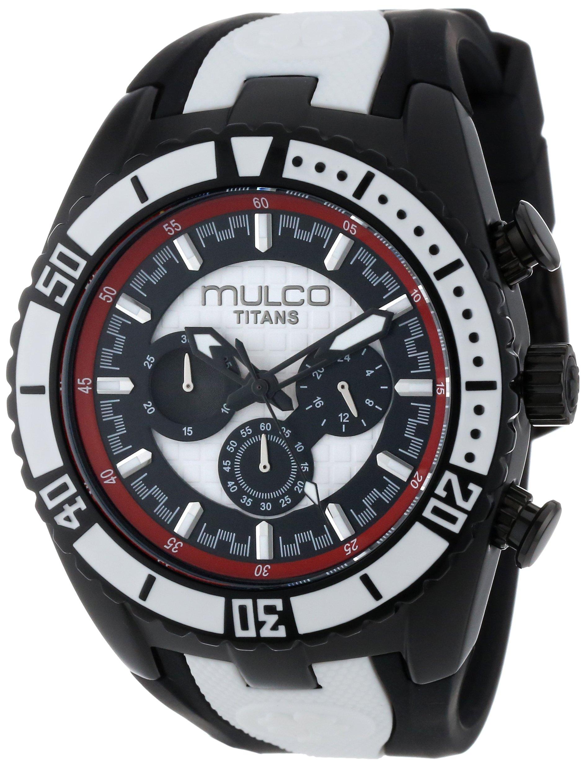MULCO Unisex MW5-1836-026 Analog Chronograph Swiss Watch by MULCO