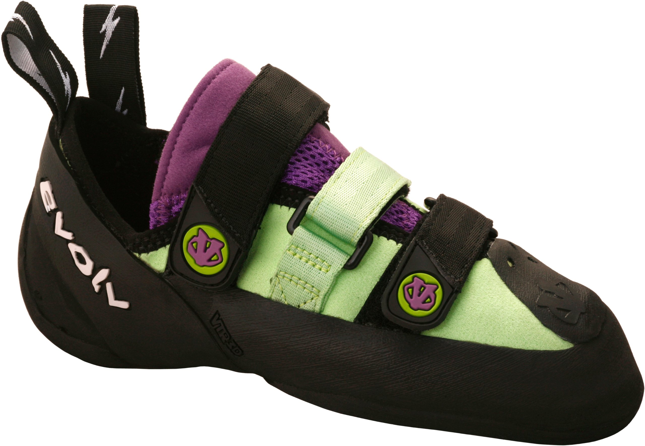 evoLV Women's Shaman LV Climbing Shoe,Mint/Lavender,4.5 M US