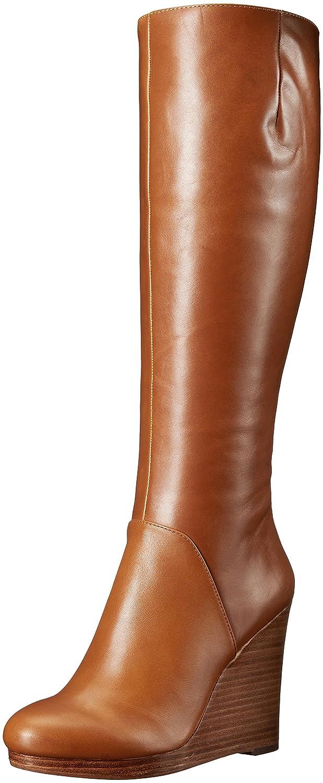 b51afcdf372 Nine West Women s Harvee Leather Knee-High Boot