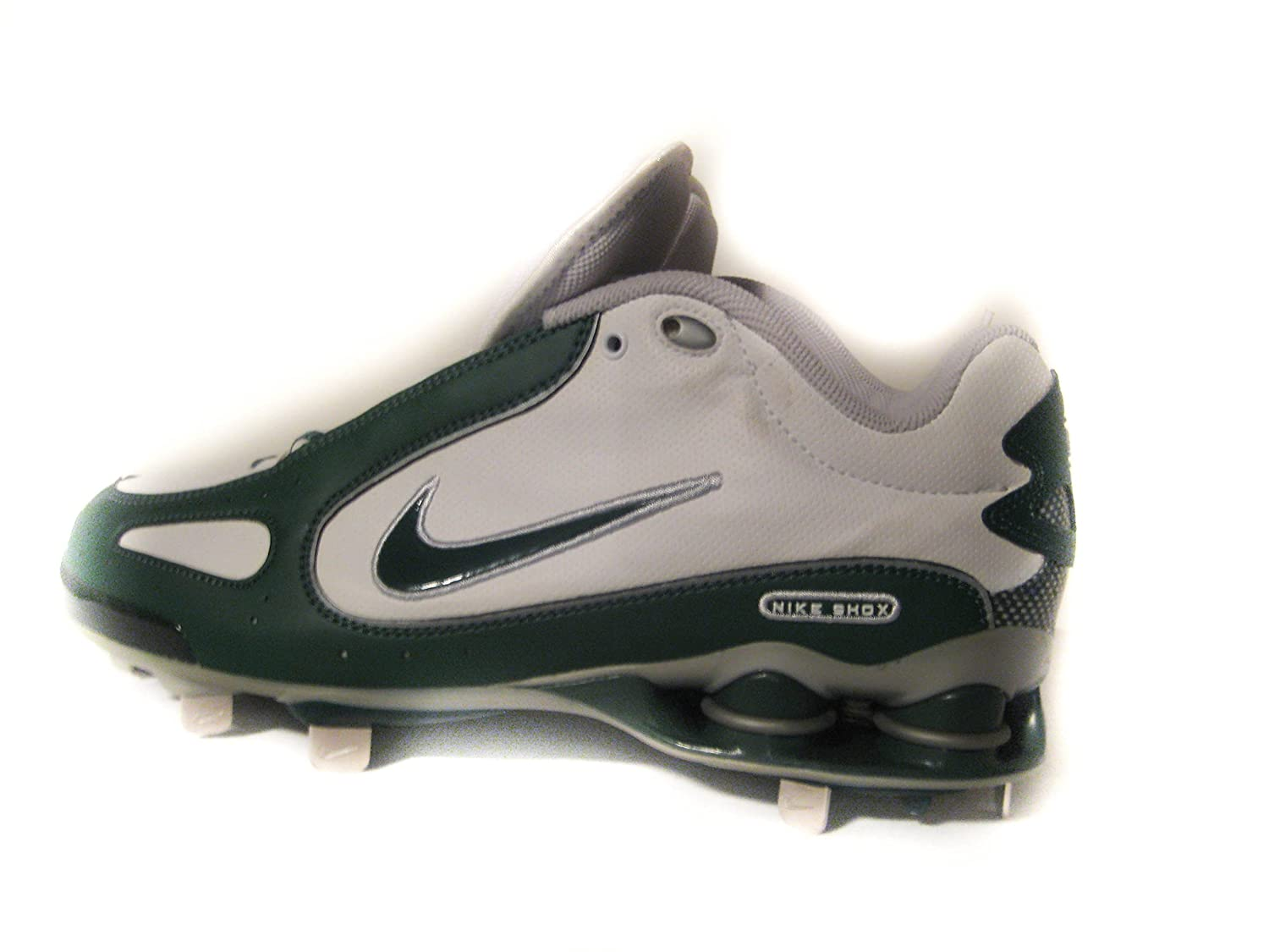 detailed look fc613 10bfd Amazon.com: Nike Shox Men's Monster Metal Baseball Cleats ...