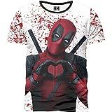 Noorhero T-Shirt Uomo - Deadpool Love