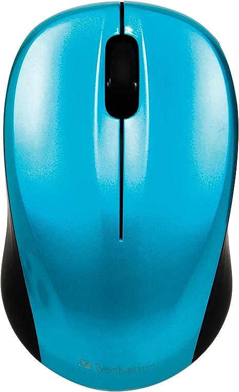 Verbatim Go Nano Wireless Mouse Caribbean blue