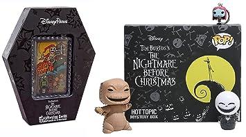 Amazon.com: Movie Funko Pop! Funko Pop! Exclusive Nightmare Before ...