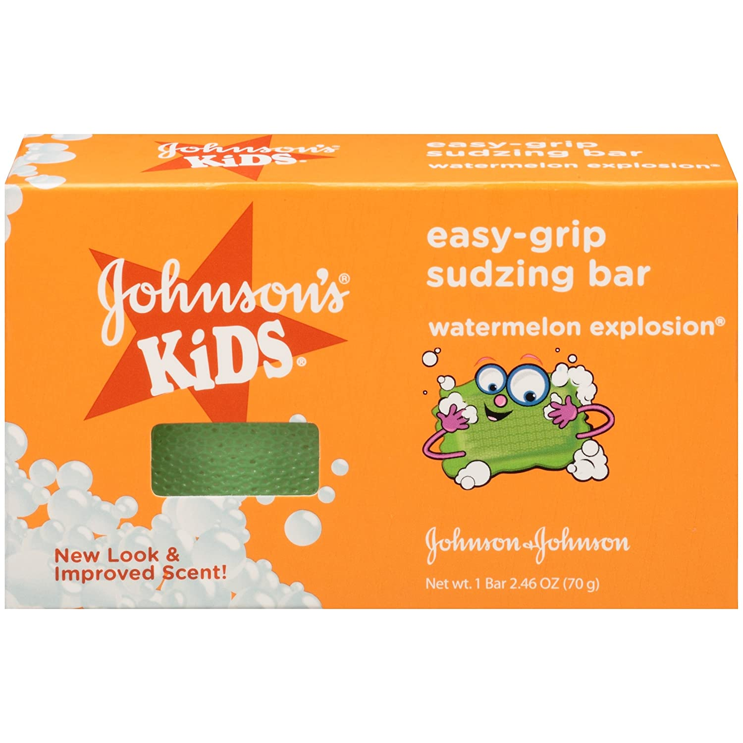 Johnson's Kids E-Z GRIP SOAP Watermelon Explosion, 2.46 Oz Johnson & Johnson - Ketotifen 381371154111