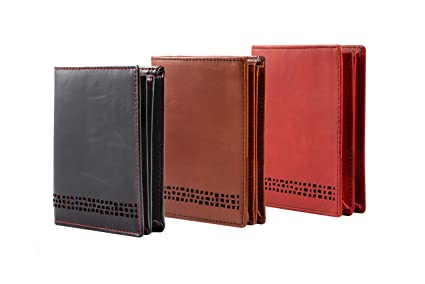 a15766ea7794 Personalised with Your Choice of Initials or Name  Mens Premium Real Leather  RFID Blocking Wallet