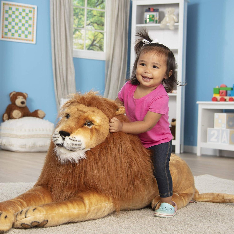 Melissa & Doug- Lion Giant leones y otros felinos grandes Juguete ...