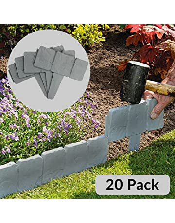 Maison & White Bordes con efecto de césped de piedra de 5 metros | Planta limítrofe